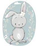 Fototapety cute cartoon hare