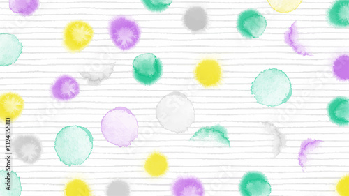 abstract pastel watercolor drop vector art background - 139435580