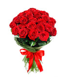 Flower bouquet of red roses - 139458379