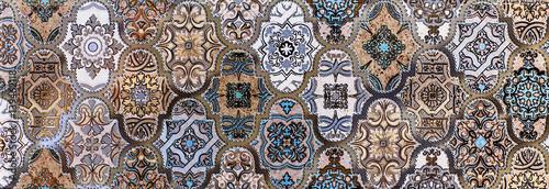 Fototapeta mosaic, ceramic tile, abstract pattern