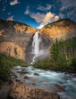 Takakkaw falls of Yoho National park