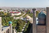 Panoramic view of Samarkand
