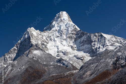 Ama Dablam Mount in the Nepal Himalaya Poster