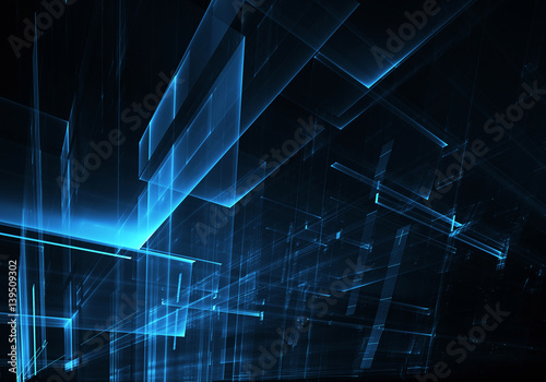 Abstract technology illustration - 139509302