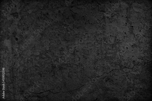 In de dag Stenen Black concrete texture background. Blank for design