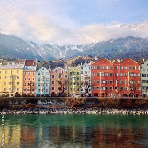 Zdjęcia na płótnie, fototapety, obrazy : Innsbruck view, Austria