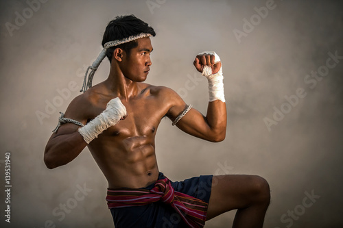 Martial arts of Muay Thai,Thai Boxing, Muay Thai Poster