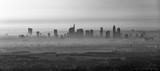 frankfurt am Main in morning fog - 139532735