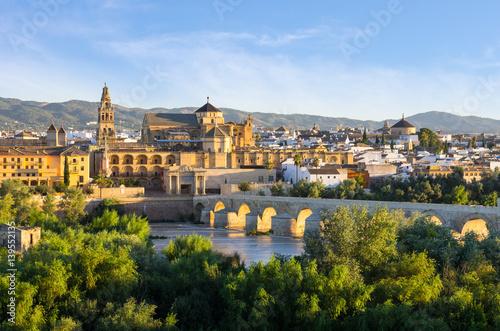 Cathedral, Mezquita and Roman bridge, Córdoba, Spain