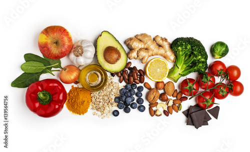 Poster Healthy food