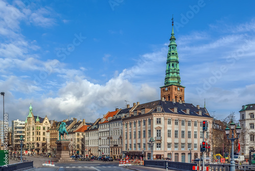Poster Hojbro Square, Copenhagen