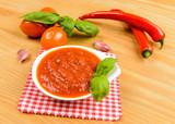 Salsa di pomodoro piccante
