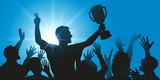 Champion - Vainqueur - Réussite - Coupe - Victoire - Succès  - 139583500