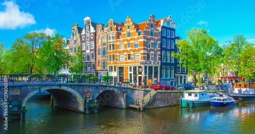 Foto op Aluminium Amsterdam Amsterdam, Pays-Bas