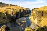 Island - Moos Landschaft zwischen Jökulsarlon und Vik - Fjadrargljufur