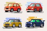 set vector car