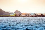 city on ocean landmark Phuket Thailand