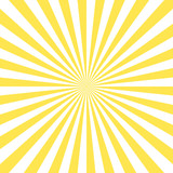 shiny sun vector ray background - 139691149