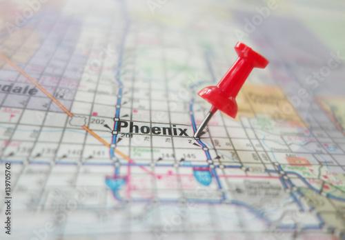 Phoenix Arizona map macro