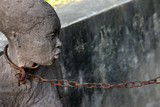 African Slave trade statue - 139713372