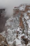 Grand Canyon South Rim Winter Snow