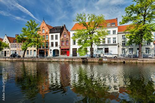 Fotobehang Brugge Bruges Brugge, Belgium