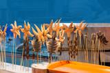 Exotic foods in a Beijing market