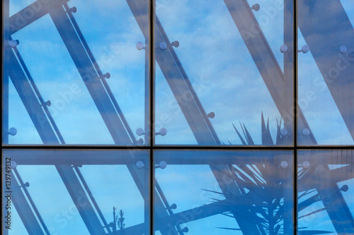 Architecture abstract background Poster