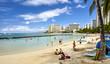 Waikiki Beach tourism beach and ocean shore Hawaii