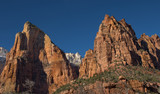 Zion National Park Mountain Peaks