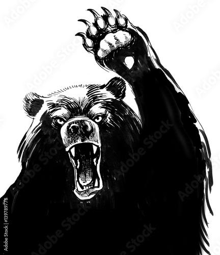 Black bear attacks - 139789778