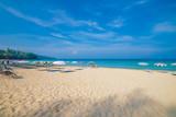 Phuket's beautiful beaches in the summer