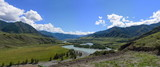The valley of the river Katun. The Republic of Altai