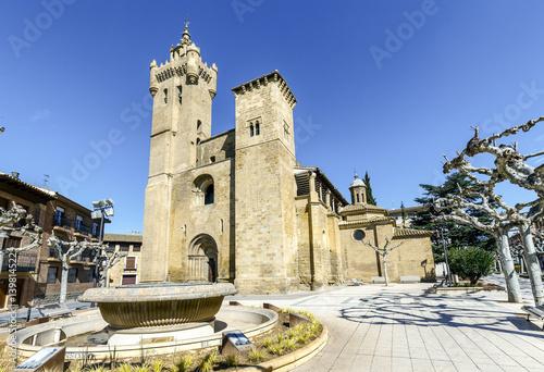 Savior church, Ejea de los Caballeros (Spain)