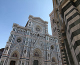 view of Cathedral of Santa Maria del Fiore in Florence