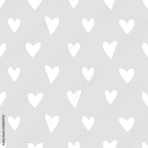 seamless love heart pattern