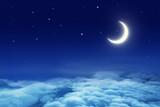 Fototapety Moon and Sky