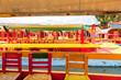 Xochimilco, boats, Mexico City