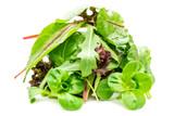 Grüner Salat isliert