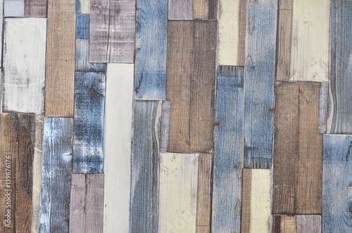 Naklejka na szybę old wood background