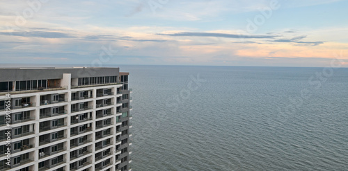 condominium sea view overlooking Hua Hin Thailand плакат