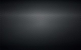 black perforated metal background texture - 139916145