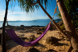 Hammock Secluded Jungle Beach on Ko Lipe Island in Thailand