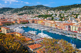 Nice seen from Mt Boron. Nice, French Riviera, France. - 139928776