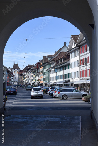 The village of Willisau on Switzerland Poster