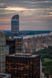 New York Skyline views at sunset