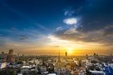 Bangkok metropolis cityscape