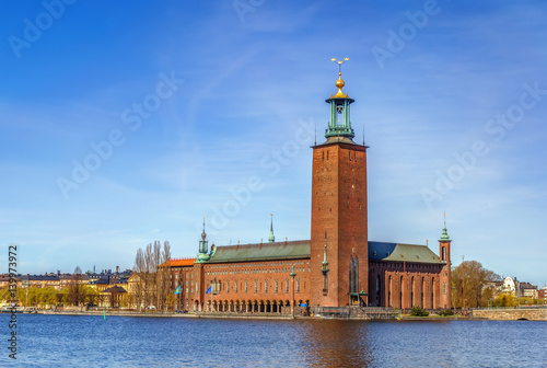 Tuinposter Stockholm Stockholm City Hall