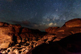 milky way at stone mountain / Milky way on the sky / SamPhanBok