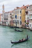 Gondole sul Canal Grande a Venezia